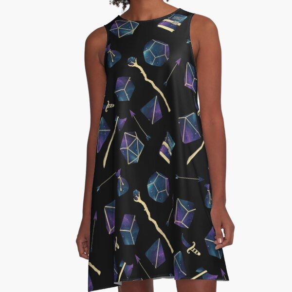 Dice & Damage A-Line Dress