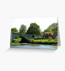 Y Bont Fawr  - Llanrwst Bridge Greeting Card