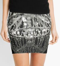 The Chandelier From An Underground Cathedral in Poland Mini Skirt