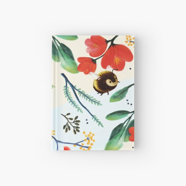 Bumblebee Pattern Hardcover Journal
