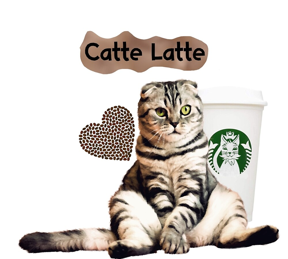 Catte Latte - for the love of coffee and cats by deannamill2287