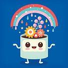 Flower Pot Head und Magic Rainbow von jsongdesign