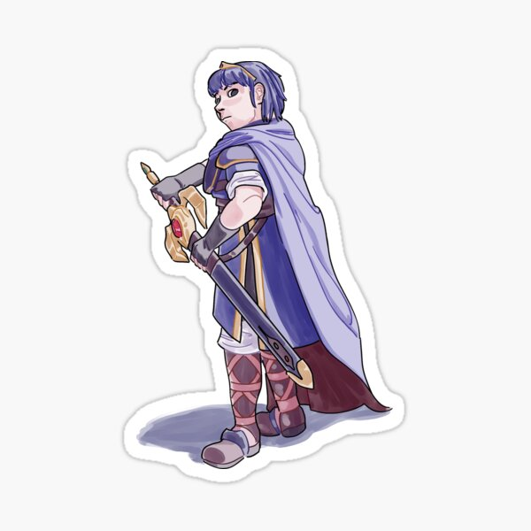 Marth Sticker Sticker