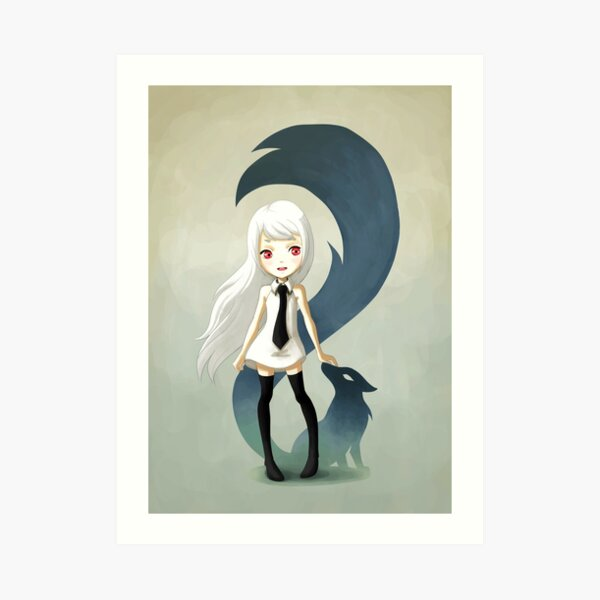 Fox Daemon Art Print