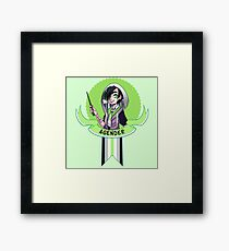 I was sorted into the Agender House Framed Print