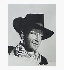 John Wayne. Photographic Print