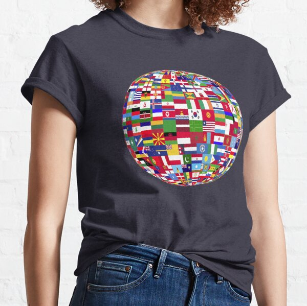 One Globe Classic T-Shirt
