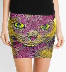 CAT ART PINKGELB Minirock