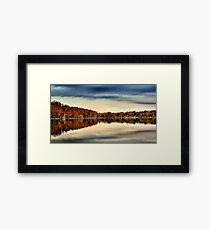 Farewell To Summer Framed Print