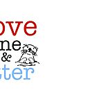Love One & Otter by Harry Grout