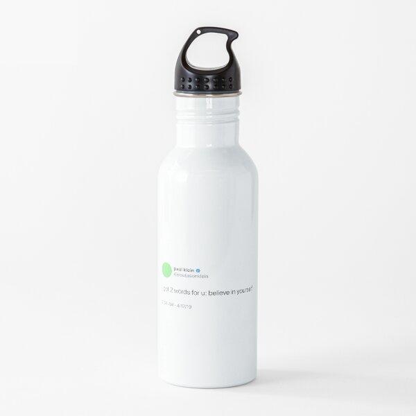 paul klein tweets Water Bottle
