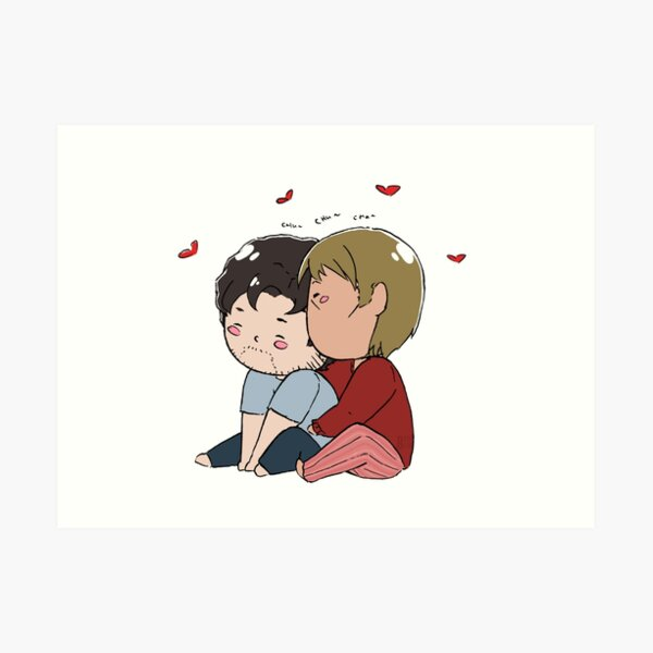 Tiny Cuddly Hannigram Art Print