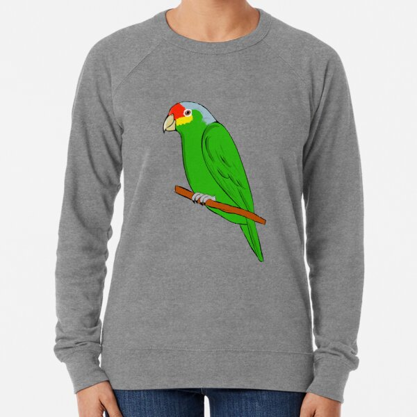 Yellow-cheeked Amazon - Red-fronted Amazon Lightweight Sweatshirt