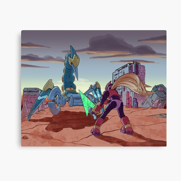 Megaman Zero 2, a tribute Canvas Print