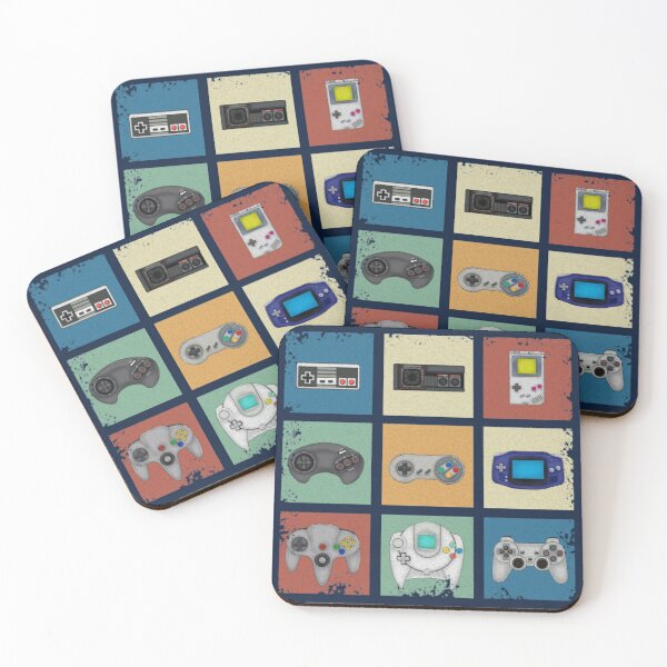 Gaming Generations Coasters (Set of 4)
