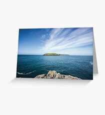 Skomer Island Greeting Card