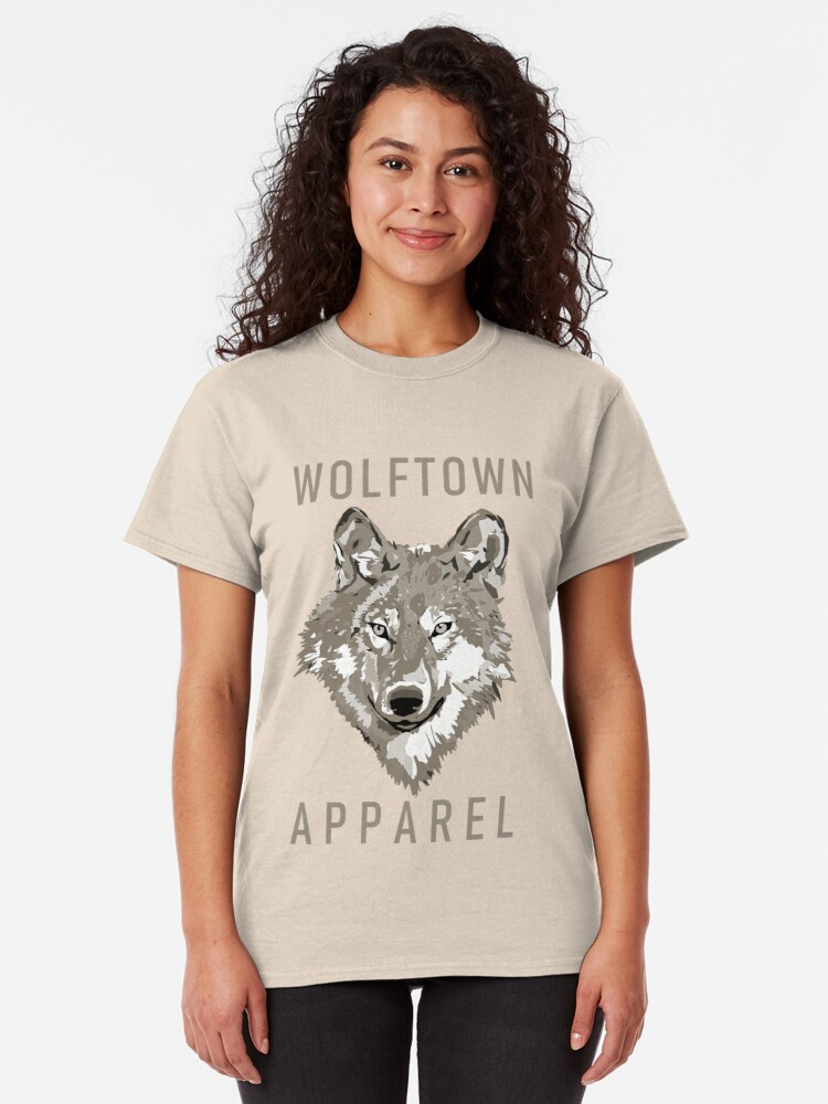 Alternate view of Wolftown Apparel 1 Classic T-Shirt