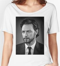 james mcavoy Relaxed Fit T-Shirt