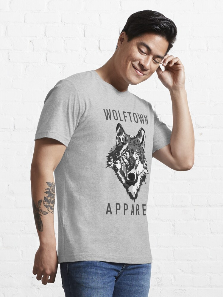 Alternate view of Wolftown 2 Essential T-Shirt