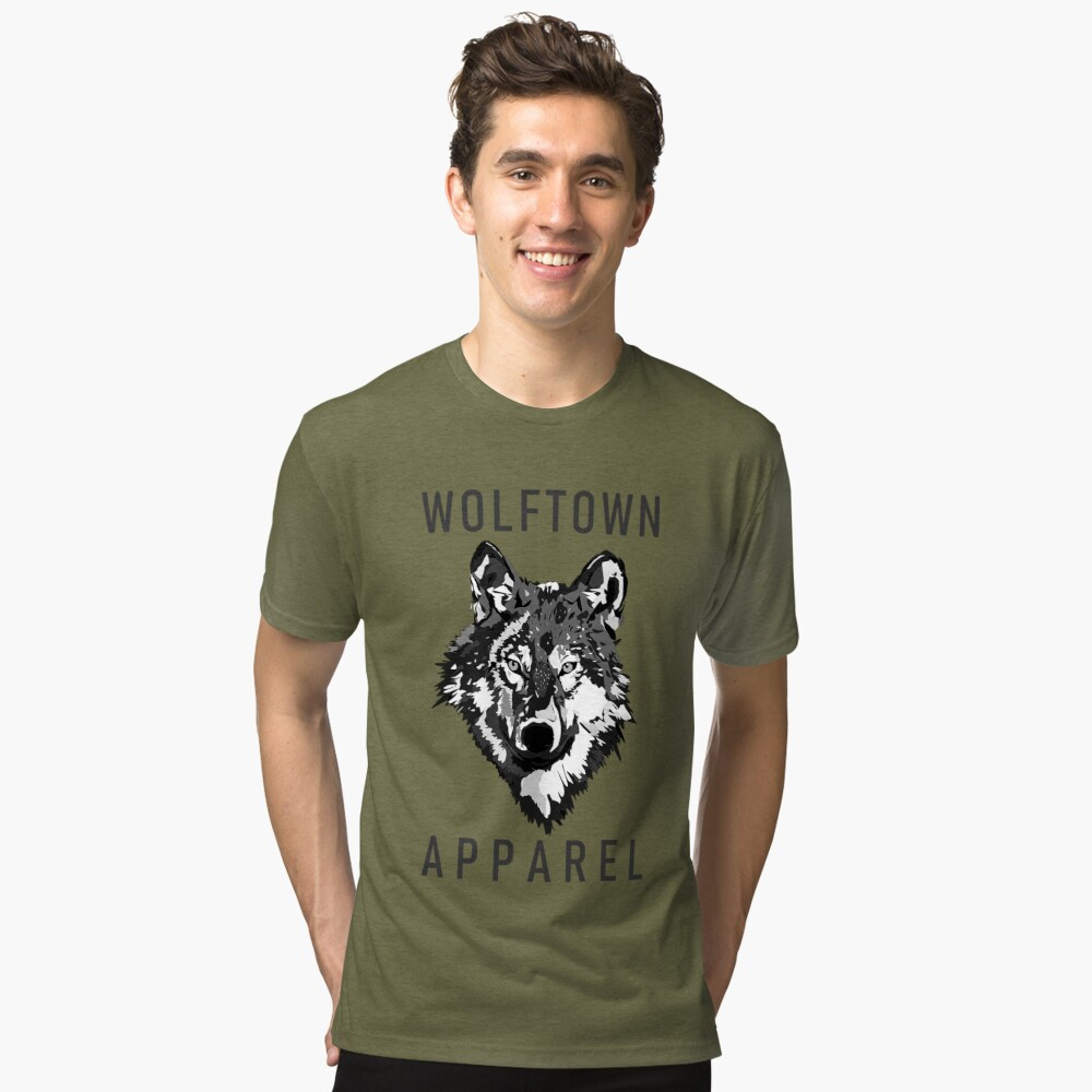 Wolftown 2 Tri-blend T-Shirt