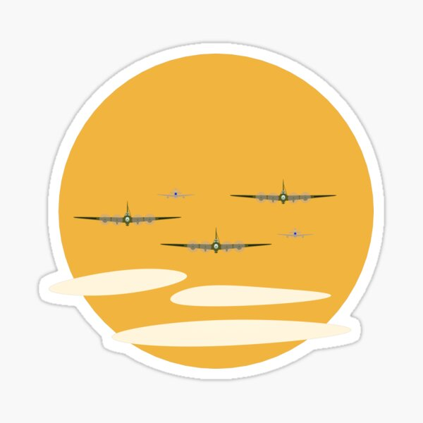 Bomber Formation Sticker