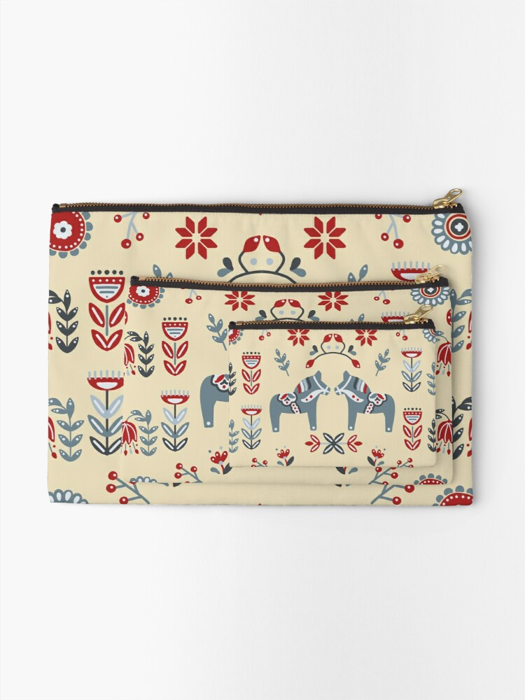 Alternate view of PRETTY HORSES Zipper Pouch