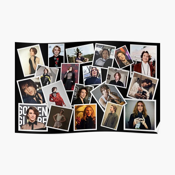Cody Fern Collage Poster