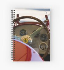 1950 Ferrari 212 F1 Interior Spiral Notebook