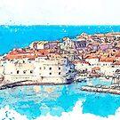 «Dubrovnik Croacia» de John Novis