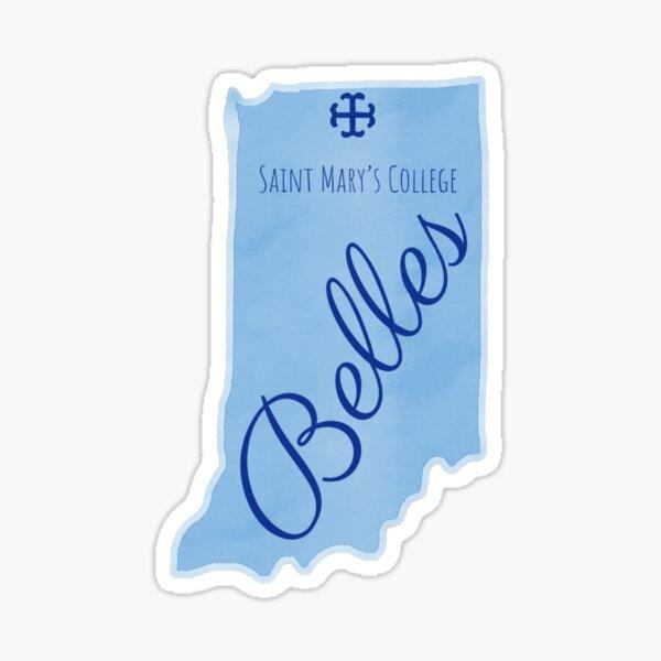Saint Mary's College Indiana Sticker