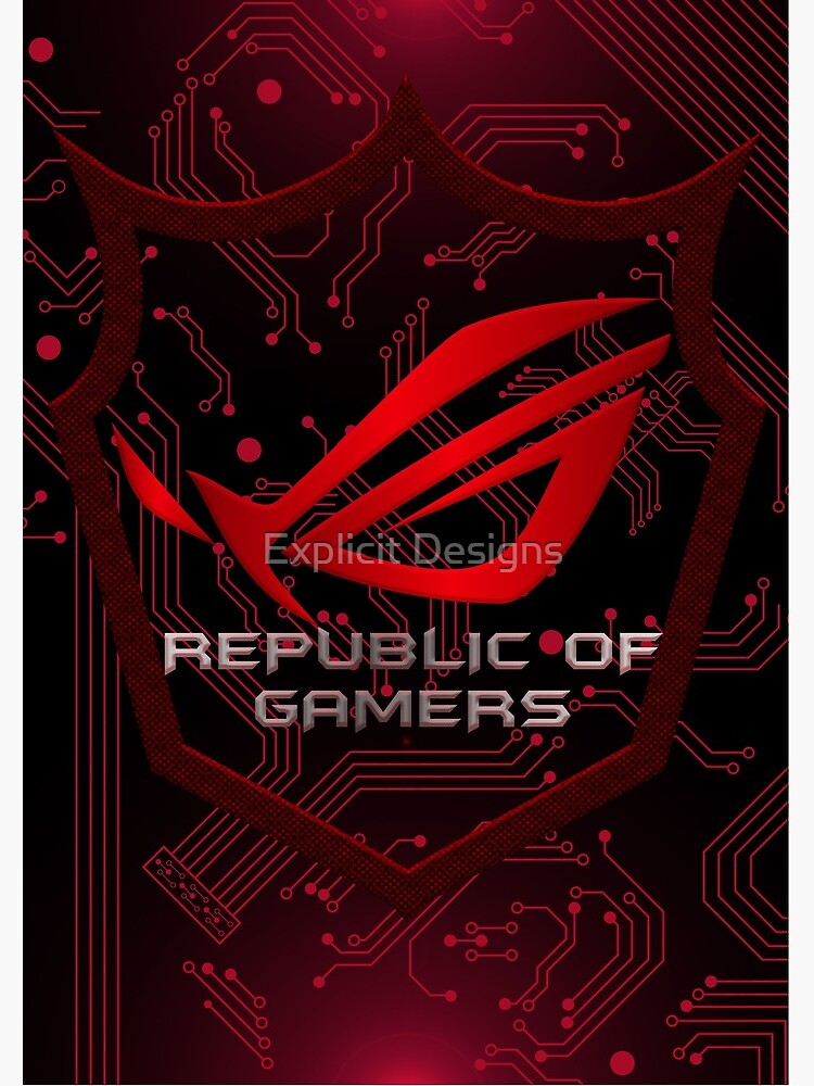Asus Republic of Gamers by cybervengeance