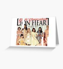 Girls' Generation (SNSD) 'Lion Heart' Greeting Card