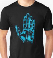 Glowing Bacterial Art - Hand Unisex T-Shirt