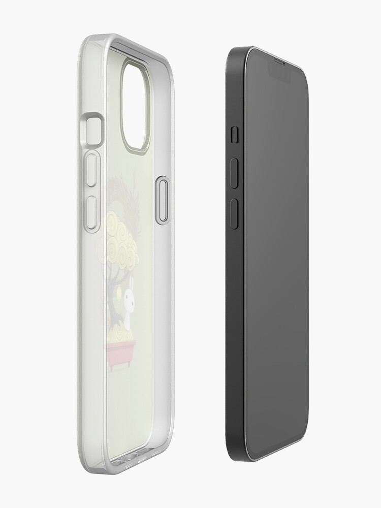 Alternate view of Bonsai Bunny iPhone Case
