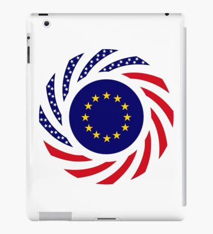 European American Multinational Patriot Flag Series iPad Case/Skin