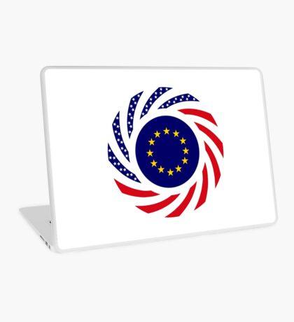 European American Multinational Patriot Flag Series Laptop Skin