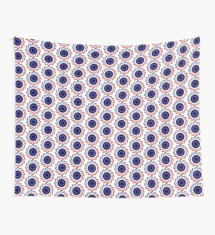 European American Multinational Patriot Flag Series Wall Tapestry
