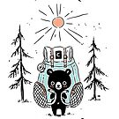 Adventure Bear by freeminds