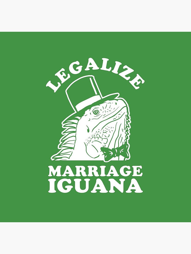 Legalize Marriage Iguana by Tabner
