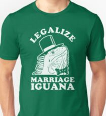 Legalize Marriage Iguana T-Shirt