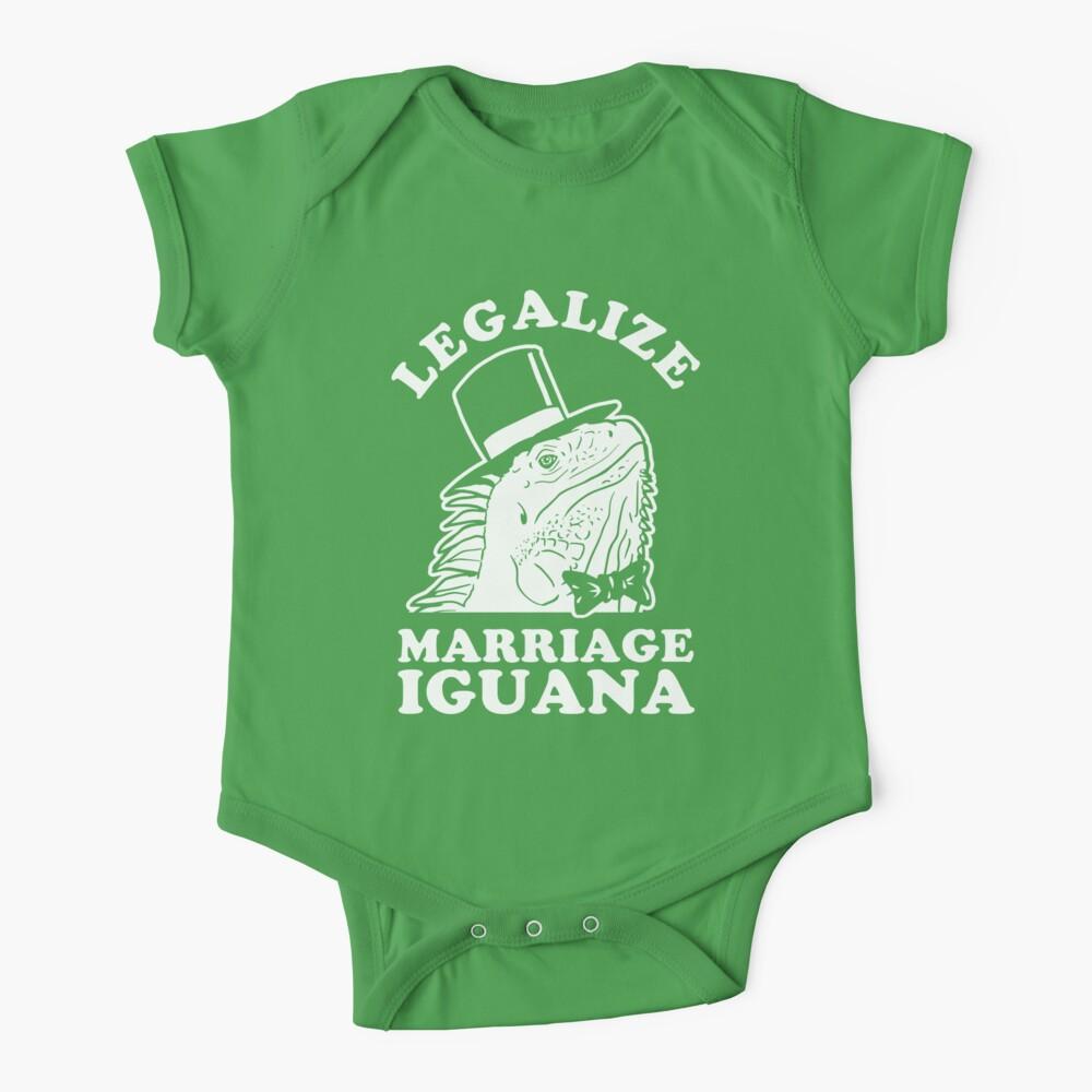 Legalize Marriage Iguana Baby One-Piece