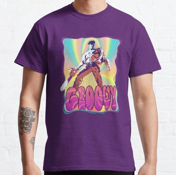 Evil Dead Ash Williams Groovy Classic T-Shirt