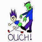 Frankenstein's Monster Kicks Butt by Margaret Bryant