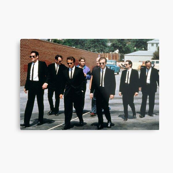 Reservoir dogs Tarantino movie  Metal Print