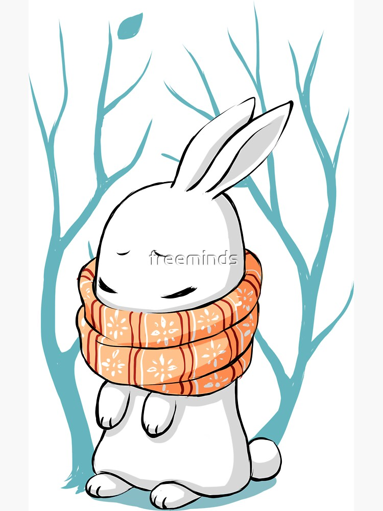 Winter Bunny by freeminds