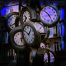 Clocks at Dusk by FeeBeeDee