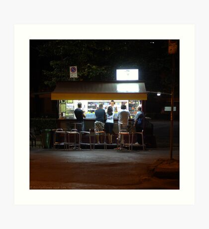 Late Supper - Florence Art Print
