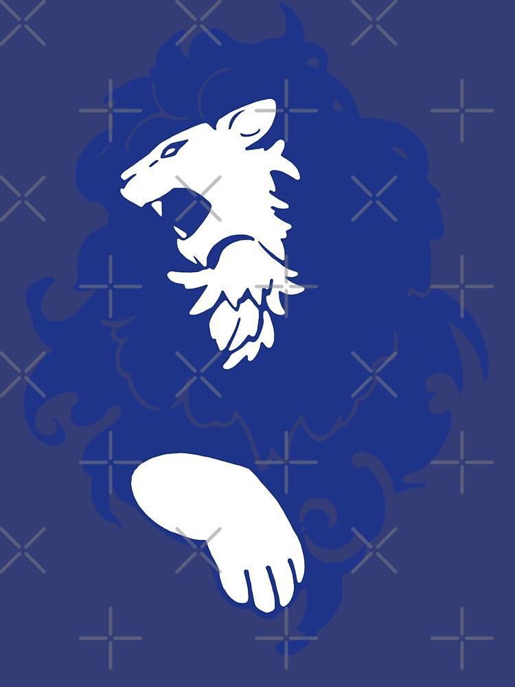 Fire Emblem™: Three Houses - Blue Lions Emblem [Colored] by SWISH-Design