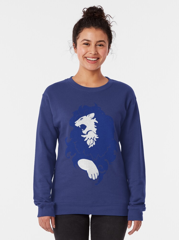 Alternate view of Fire Emblem™: Three Houses - Blue Lions Emblem [Colored] Pullover Sweatshirt