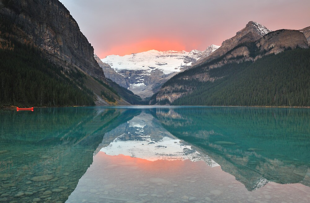 Lake Louise Sunrise by Kasia Nowak